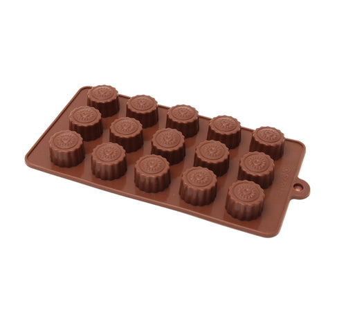 Chocolate Mould (Silicone) - Buttercups