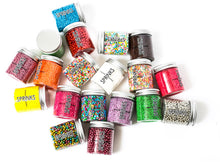 Load image into Gallery viewer, Glitter Flakes Silver 30g