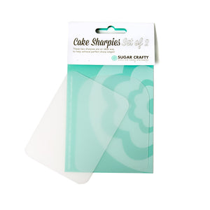Cake Sharpies Flexible Smoothers 2pk