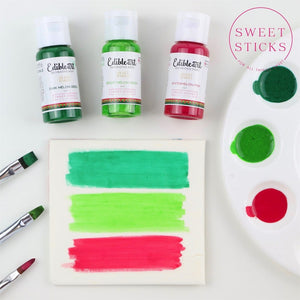 Edible Art Paint Dark Melon Green