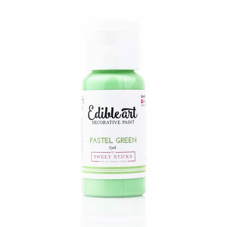 Edible Art Paint Pastel Green