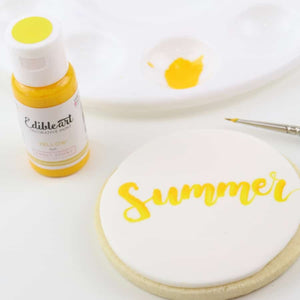 Edible Art Paint Yellow