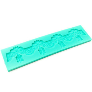 Silicone Mould - Embroidered Lace Side