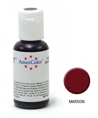 Gel Paste Maroon 21.3g