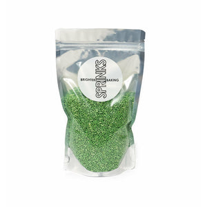 Jimmies Metallic Green 500g