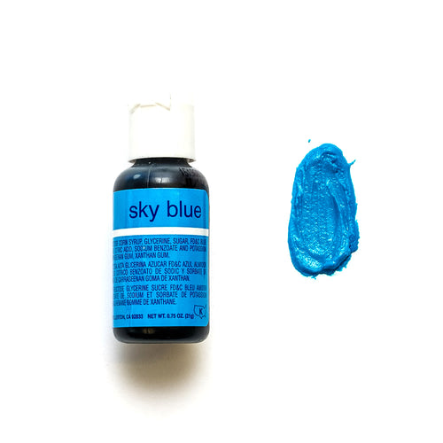 Liqua-Gel Sky Blue 0.7Oz 20ml