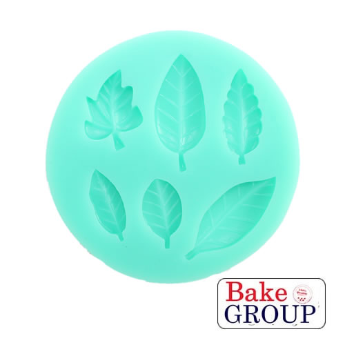 Silicone Mould - Leaves Mixed