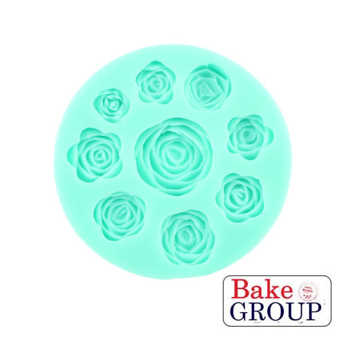 Silicone Mould - Roses Mixed