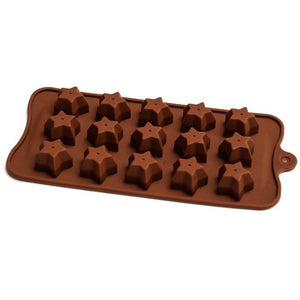 Chocolate Mould (Silicone) - Star