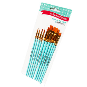 Sugarcraft Brushes 10pk