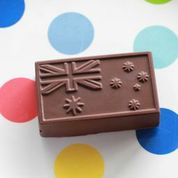 Chocolate Mould (Plastic) - Australian Flag Tim Tam