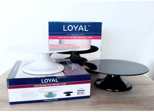 Melamine Turntable - Black