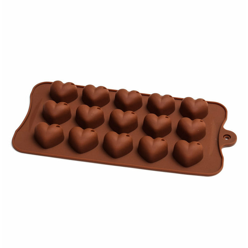 Chocolate Mould (Silicone) - Shiny Heart