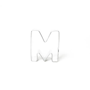 "Cookie Cutter - Letter ""M"" 7cm"