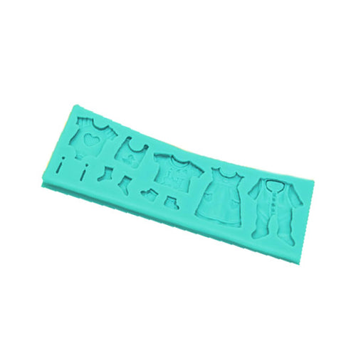 Silicone Mould - Baby Clothes