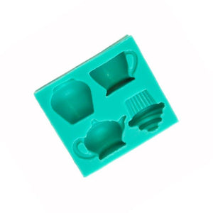 Silicone Mould - High Tea Party