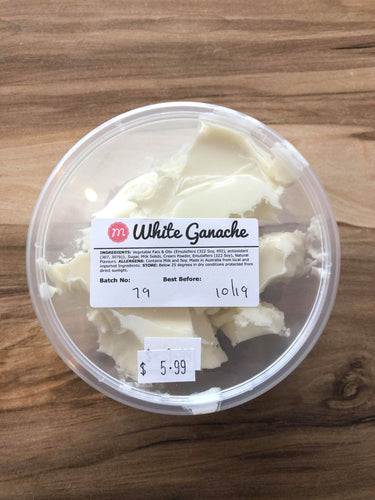 Ganache 300g - White Chocolate