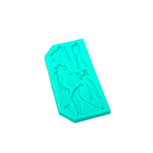 Silicone Mould - Golf