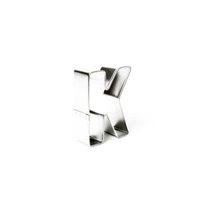 "Cookie Cutter - Letter ""K"" 7cm"