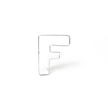 "Load image into Gallery viewer, Cookie Cutter - Letter ""F"" 7cm"