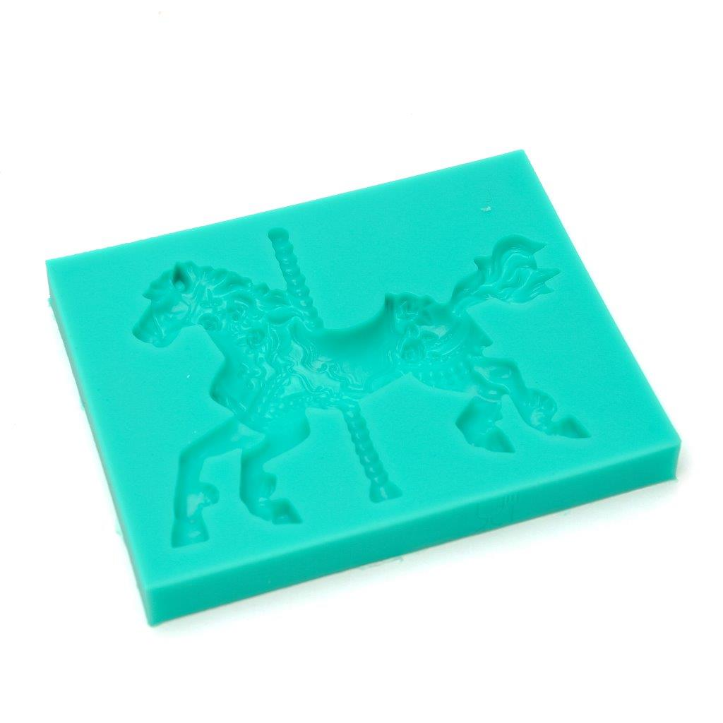 Silicone Mould - Carousel Horse