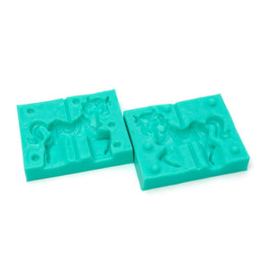 Silicone Mould - Carousel Horse Set