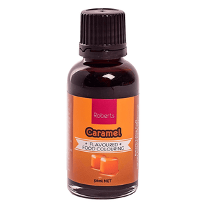 Flavour Colour 30ml - Caramel