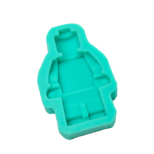 Silicone Mould - Lego Man Large