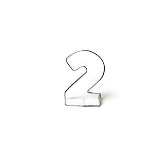 "Cookie Cutter - Number ""2"" 7cm"
