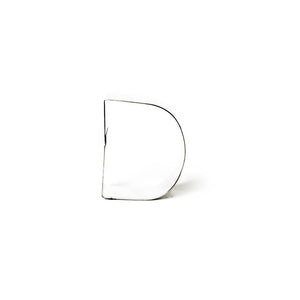 "Cookie Cutter - Letter ""D"" 7cm"
