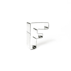 "Cookie Cutter - Letter ""F"" 7cm"