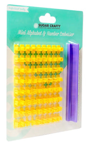 Embosser Set Alphabet & Numbers - Mini