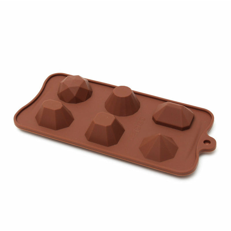 Chocolate Mould (Silicone) - Large Gems