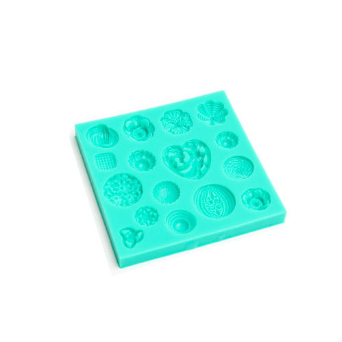 Silicone Mould - Floral Centres