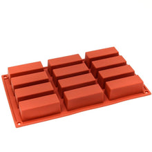 Load image into Gallery viewer, Silicone Baking Mould - Small Bar Cakes