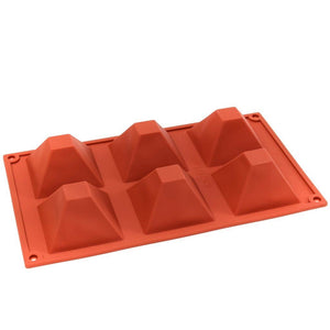 Silicone Baking Mould - Small Pyramids