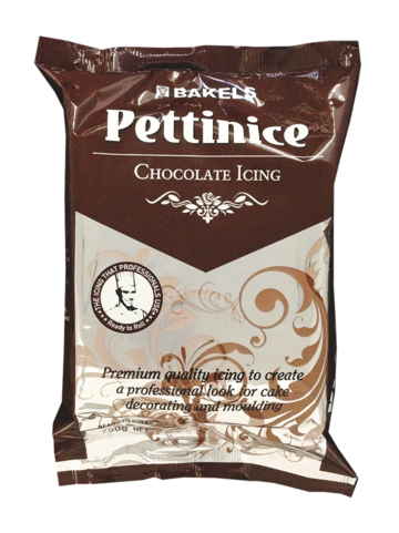 Pettinice Fondant - Brown 750g