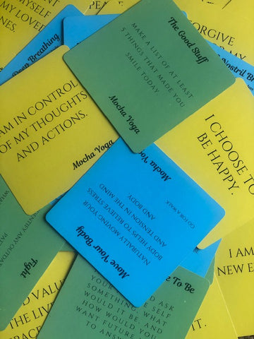wellness cards resources for veterans mental health empowerment black affirmations