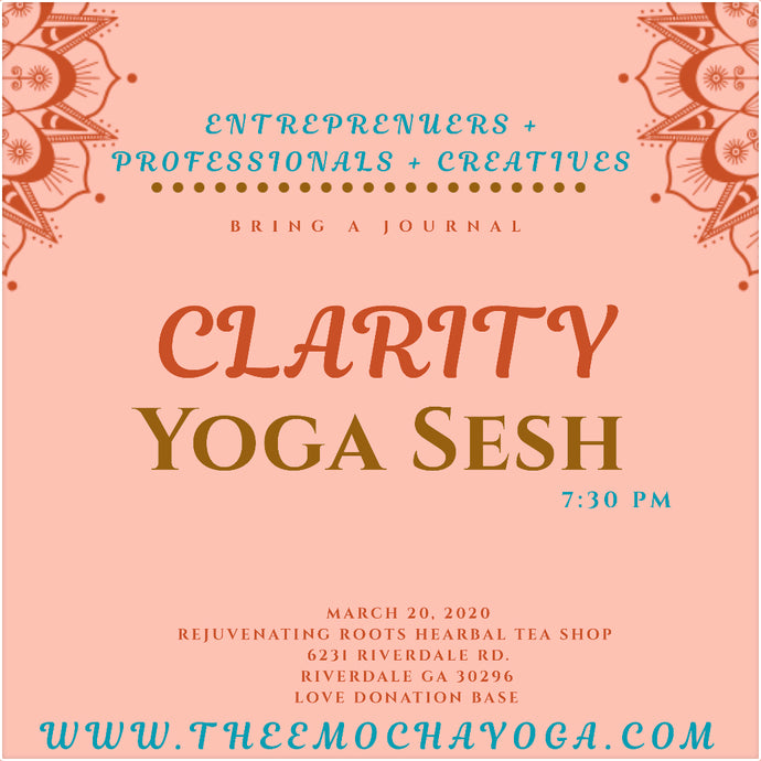 Thee Clarity Yoga Sesh 3.20