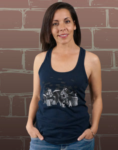Alley Cats Junior Women's Racerback Tank