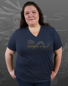 Bruce Plus Size Women's V-Neck