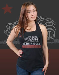 California Native Junior Women's Racerback Tank
