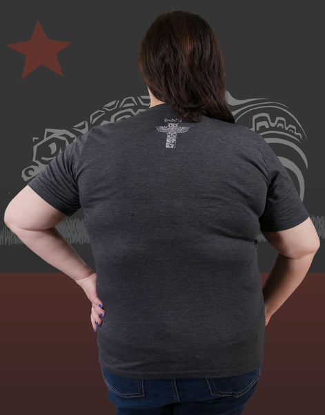 California Native Plus Size Women's V-Neck
