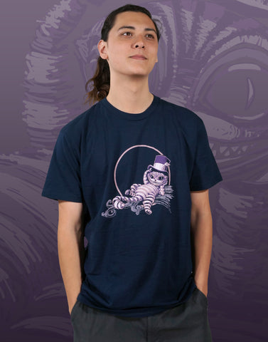 Cheshire Cat Men's Fitted Crew Neck