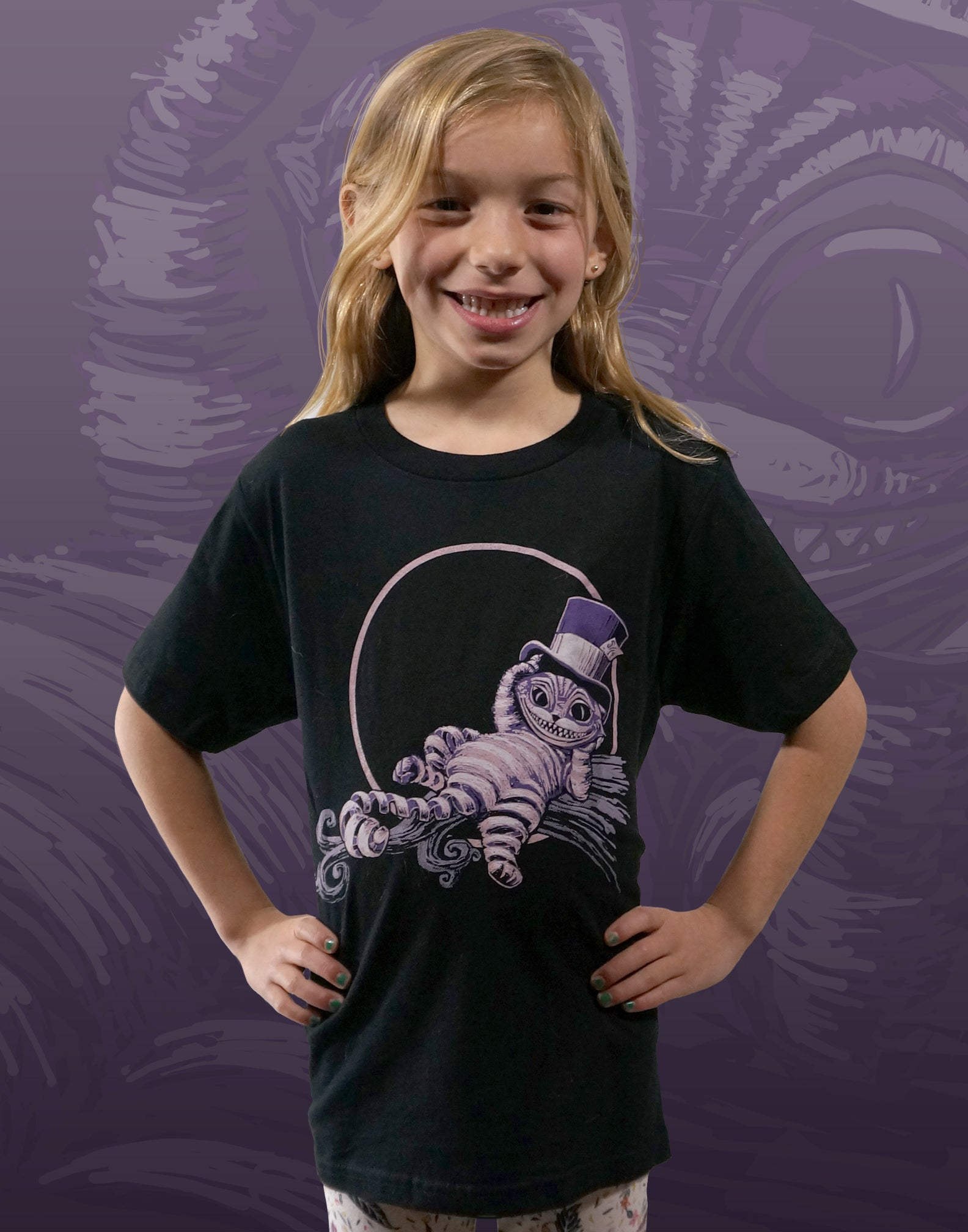 Cheshire Cat Youth Crew Neck