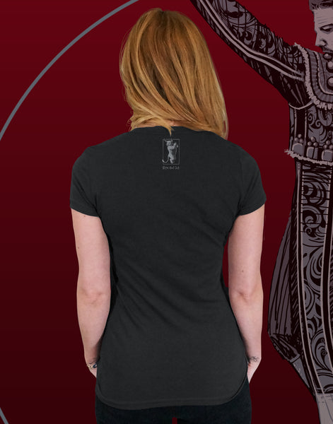 Flamenco Junior Women's Fitted V-Neck (New Fit)