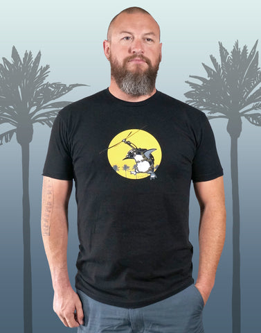 Flying Penguin Men's Recycled Eco-Friendly Performance Tee
