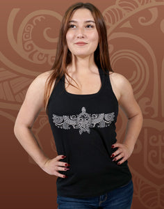 Flying Turtle Junior Women's Racerback Tank