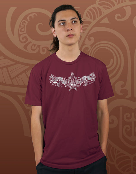 Flying Turtle Men's Fitted Crew Neck