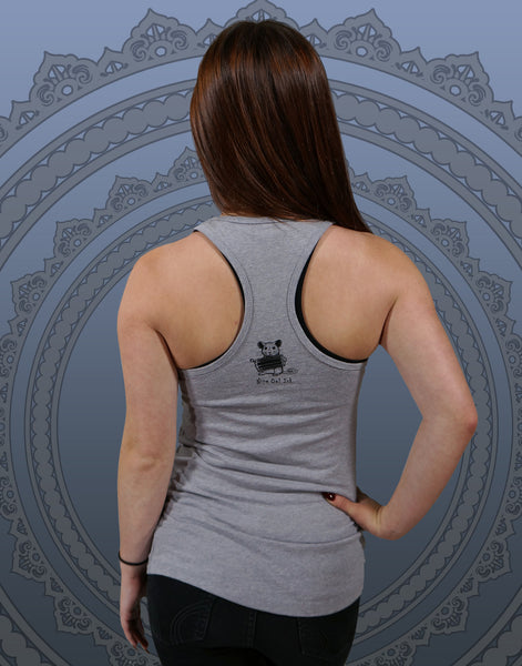 Ganesha Junior Women's Racerback Tank